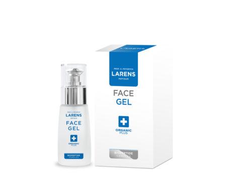 Face gel Larens na pleť tváre, krk a dekolt