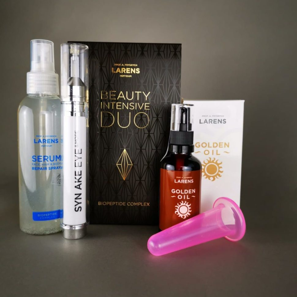 lifting golden oil beauty duo set